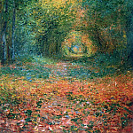 The Undergrowth in the Forest of Saint-Germain, Claude Oscar Monet