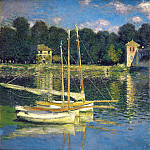 The Bridge at Argenteuil, Claude Oscar Monet