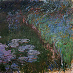 Water Lilies, 1914-17 10, Claude Oscar Monet