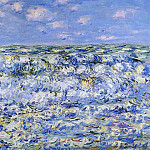 Waves Breaking, Claude Oscar Monet