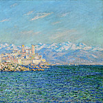 Antibes, Afternoon Effect, Claude Oscar Monet