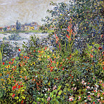 Flowers at Vetheuil, Claude Oscar Monet