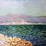 The Gulf of Antibes, Клод Оскар Моне