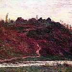 Claude Oscar Monet - The Village of La Coche-Blond, Evening