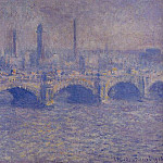 Waterloo Bridge, Sunlight Effect 5, Claude Oscar Monet