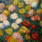 Claude Oscar Monet - Chrysanthemums 2