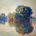 The Seine near Giverny, Claude Oscar Monet