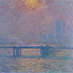Charing Cross Bridge, The Thames, Claude Oscar Monet