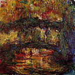 Claude Oscar Monet - The Japanese Bridge 4