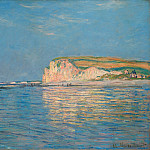 Low Tide at Pourville 02, Claude Oscar Monet