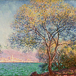 Antibes in the Morning, Claude Oscar Monet