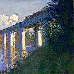 The Railway Bridge at Argenteuil, Claude Oscar Monet