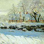 The Magpie, Claude Oscar Monet