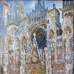 Claude Oscar Monet - Rouen Cathedral, Magic in Blue