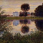 Claude Oscar Monet - The Ball Shaped Tree, Argenteuil