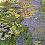 Claude Oscar Monet - Water Lilies, 1919 02