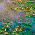 Water Lilies, 1906 01, Claude Oscar Monet