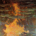 Water Lilies, 1907 14, Claude Oscar Monet