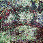 The Japanese Bridge 2, Claude Oscar Monet