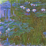 Water Lilies, 1914-17 06, Claude Oscar Monet