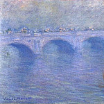 Waterloo Bridge in the Fog, Claude Oscar Monet