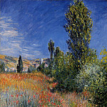 Claude Oscar Monet - Landscape on the Ile Saint-Martin