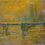 Claude Oscar Monet - Charing Cross Bridge