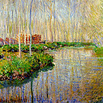 Claude Oscar Monet - The River Epte
