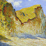 Cliffs near Pourville, 1882 8, Claude Oscar Monet