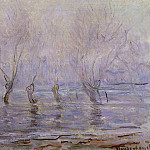 Flood at Giverny, Клод Оскар Моне