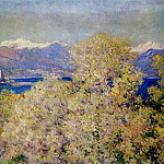 Antibes - View of the Salis Gardens, Claude Oscar Monet