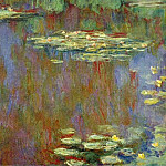 Claude Oscar Monet - Water Lilies, 1906-07 01