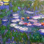 Water Lilies, 1916-19 03, Claude Oscar Monet
