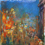 Claude Oscar Monet - Leicester Square at Night