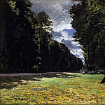Клод Оскар Моне - The Pave de Chailly in the Fontainbleau Forest