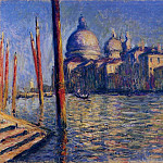 The Grand Canal and Santa Maria della Salute, Claude Oscar Monet