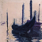 Gondola in Venice, Claude Oscar Monet