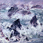 Claude Oscar Monet - Storm at Belle-Ile