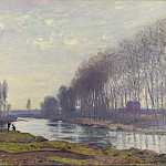 The Small Arm of the Seine at Argenteuil, Клод Оскар Моне