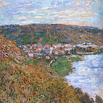 Клод Оскар Моне - View over Vetheuil