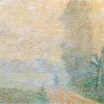 Path in the Fog, Claude Oscar Monet