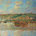 Late Afternoon in Vetheuil, Claude Oscar Monet