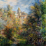 The Moreno Garden at Bordighera, Claude Oscar Monet