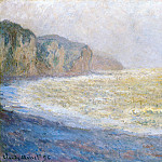 Cliff at Pourville, Клод Оскар Моне