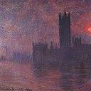 Claude Oscar Monet - Houses of Parliament at Sunset