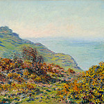 The Church at Varengeville and the Gorge of Les Moutiers, Claude Oscar Monet