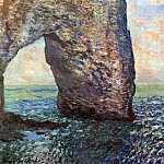 The Mannerport near Etretat, Claude Oscar Monet