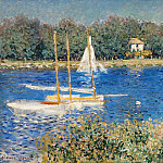 The Seine at Argenteuil, Клод Оскар Моне