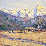 The Valley of the Nervia, Claude Oscar Monet