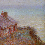 Customs House at Varengaville 2, Claude Oscar Monet
